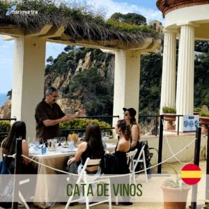 Cata de vinos | Jardín Botánico Marimurtra