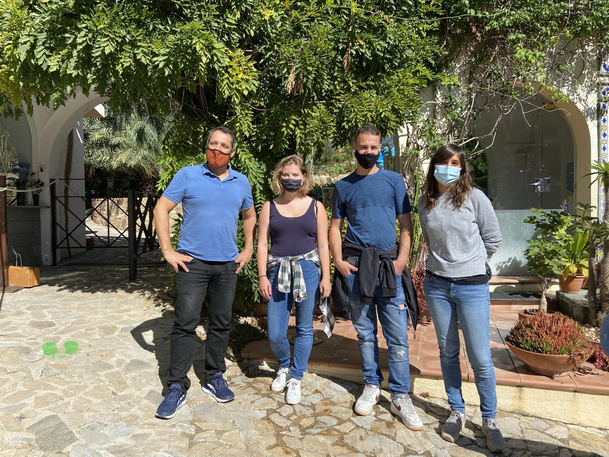 Benvinguda dels voluntaris a Marimurtra (1)