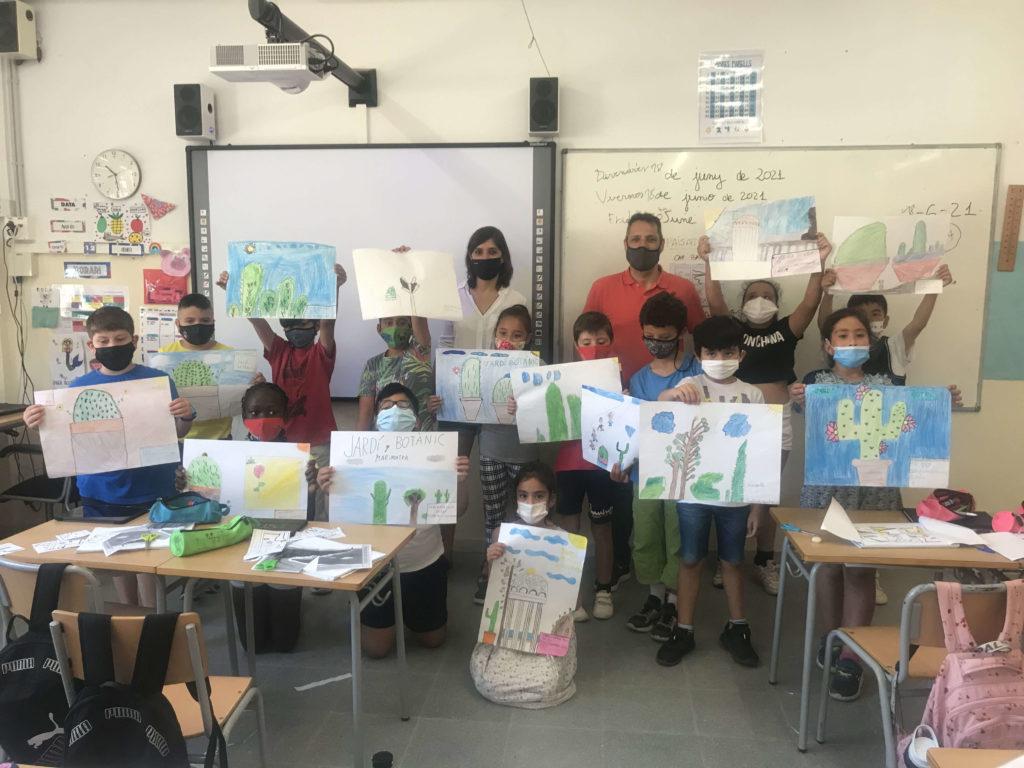 Classe de 3er Escola Carles Faust | Concurs de Dibuix Marimurtra