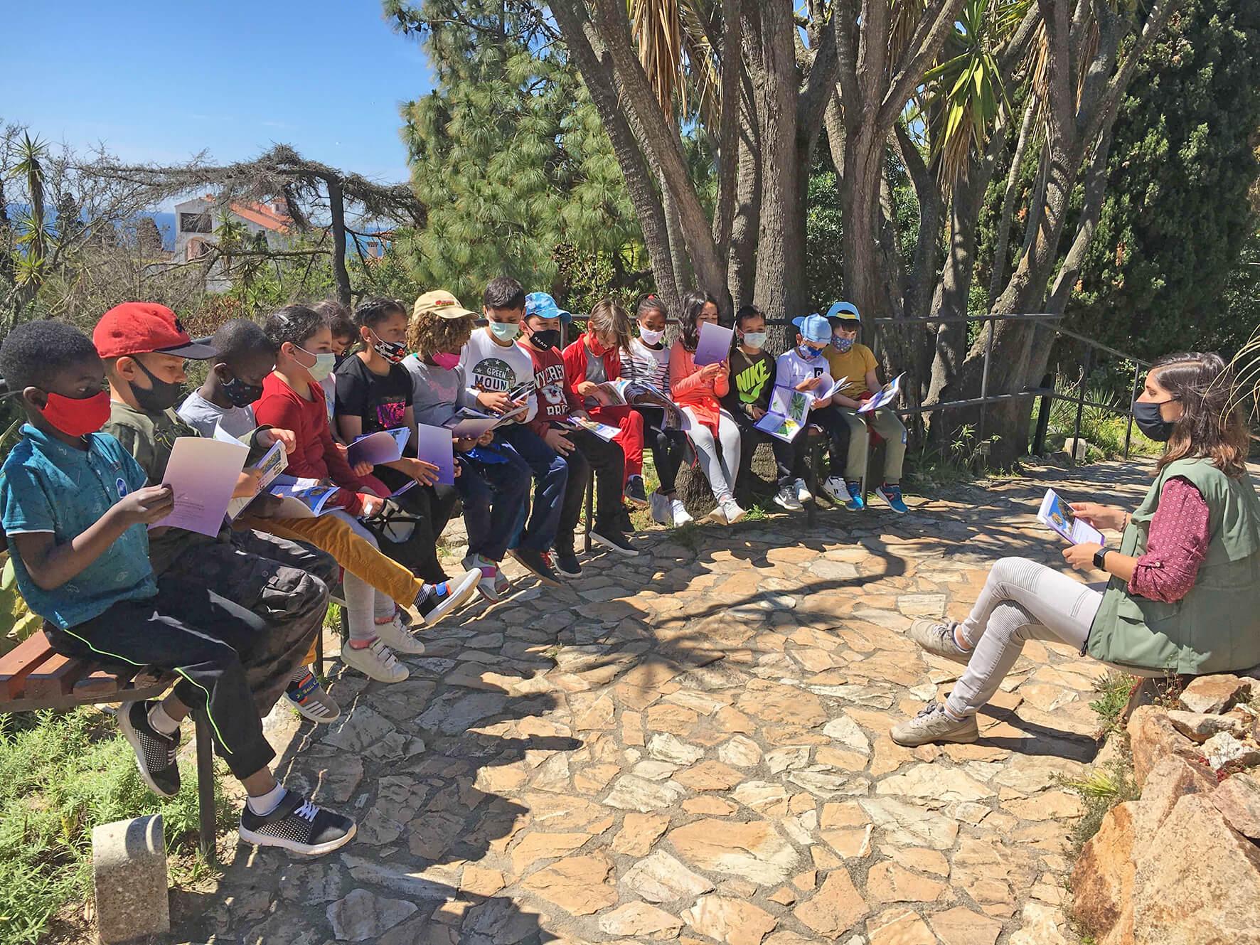 Activitats Escola   Jardí Botànic Marimurtra