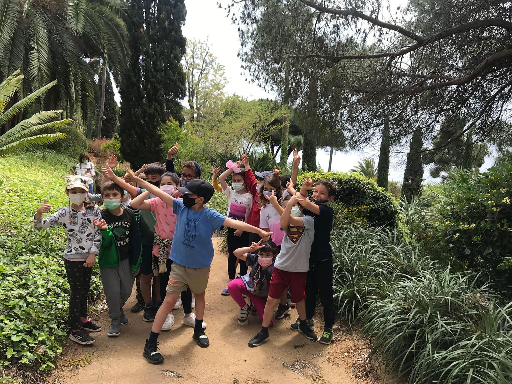 Activitats Escola | Jardí Botànic Marimurtra